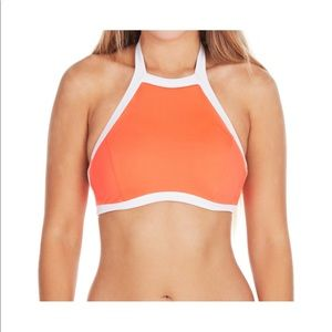 Seafolly Size 8 High Halter Neck Bikini Top w/ Tie
